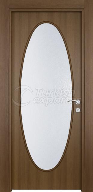Wooden Door 111 Walnut
