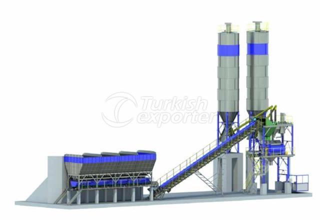 MRM 100S Stationary Concrete Plants