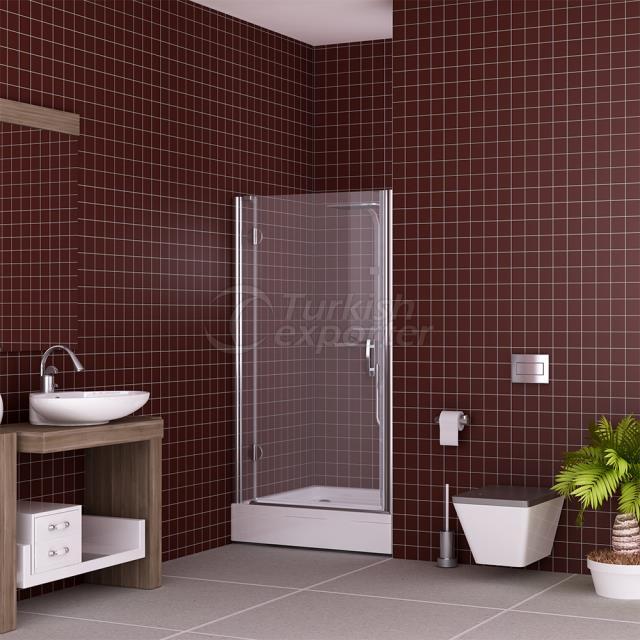Cabine de chuveiro plana