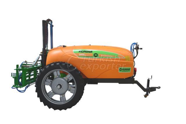 Trailed Type Hydraulic Lifted Field Sprayer 2000 Lt