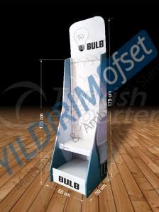 Sticky Cardboard Stand