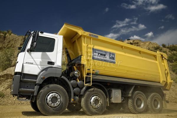 Camion à demi-tuyau de vidange08