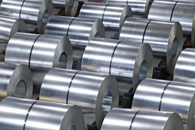 Bobinas de chapa de metal galvanizado