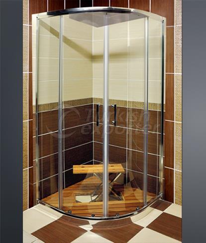 دش وحوض الاستحمام كابينة H-9731
