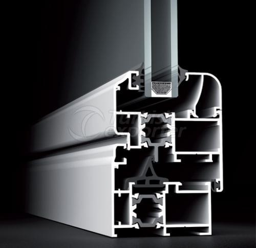 Janelas de portas de alumínio 59T