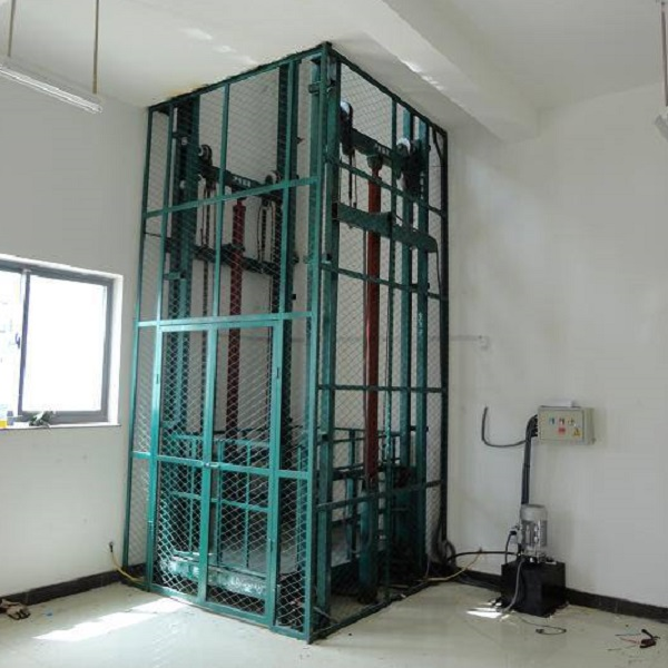 Double-piston Hydraulic Lifting Platform