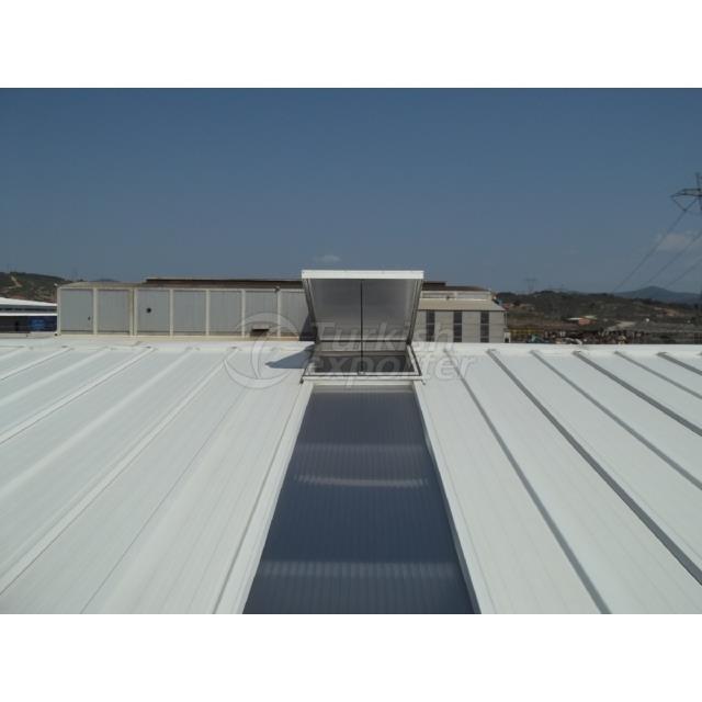 Panneau de toit Multiwall en polycarbonate