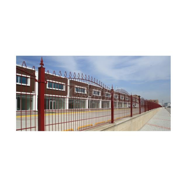 Canfor Double Panel Fence