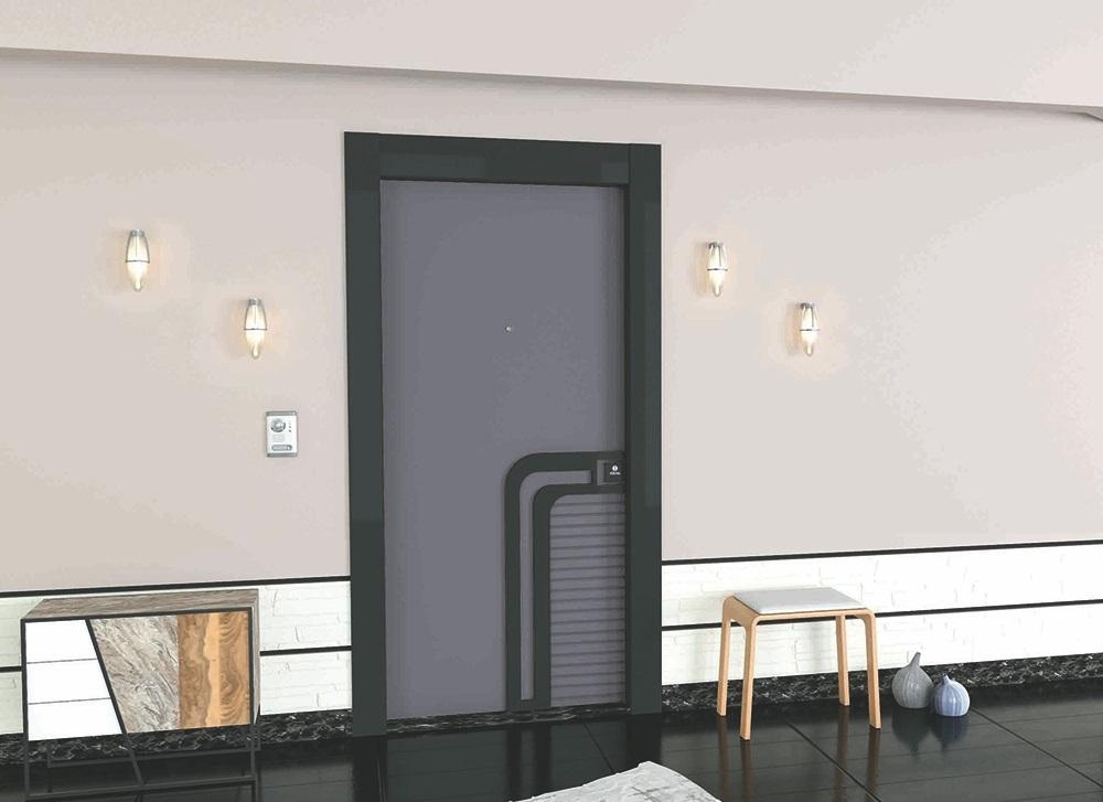 Steel Doors Platinum Lilac