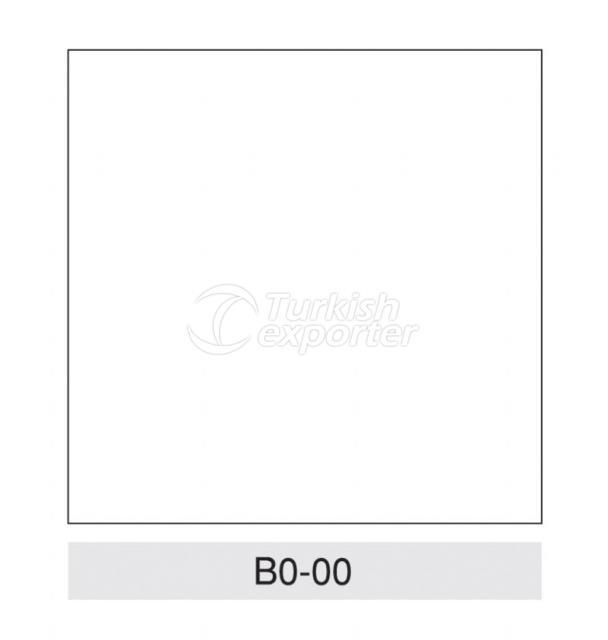 Aplicaciones de techo suspendido B0-00