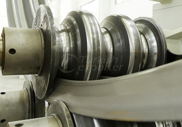 Hydraulic Corrugated Profile Bending Machine - HPK 120