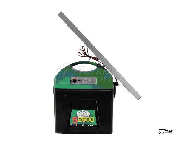 Máquina de esgrima solar