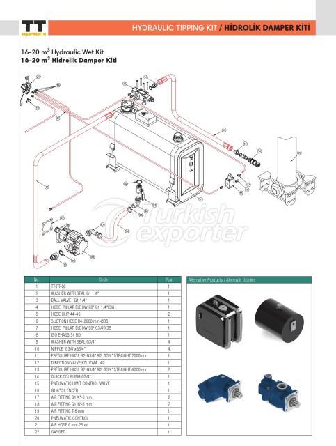 Hydraulic Tipping Kit