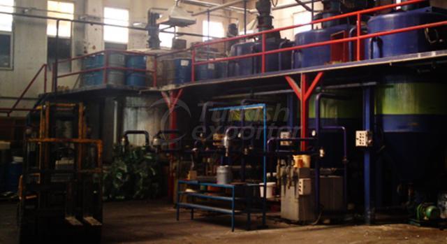 Фабрика минерального масла