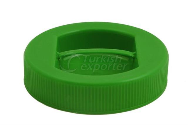 Couvercles en plastique pour pots