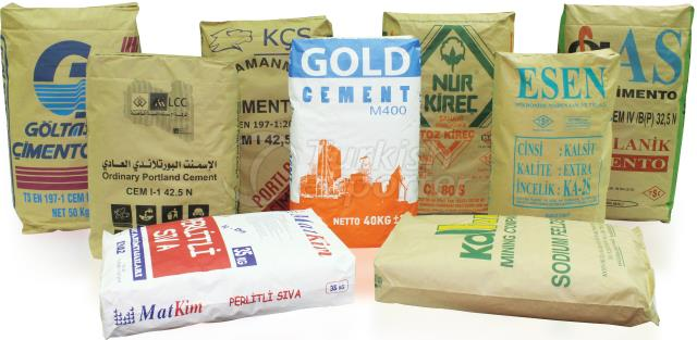 Kraft Paper Cement Bag