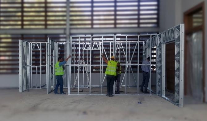 Light Gauge Steel Houses Estonsehir Project