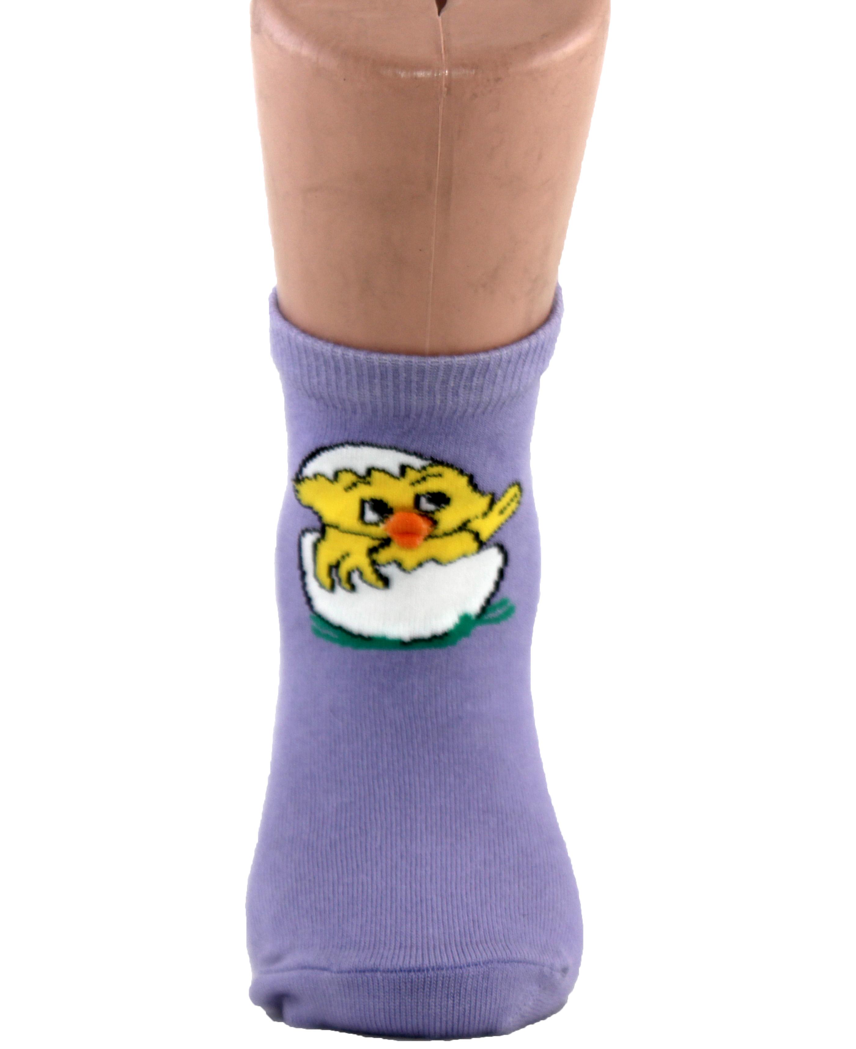 Chick in egg Kids Socks