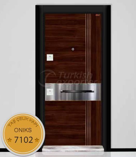 Steel Door - Oniks 7102
