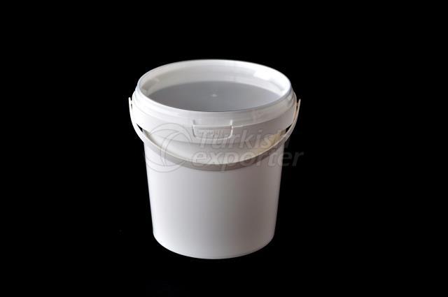 1000 ml Plastic Round Bucket