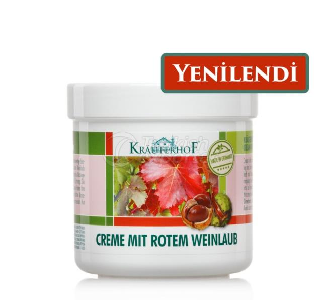 Krauterhof Cream with Red Wine Leaves