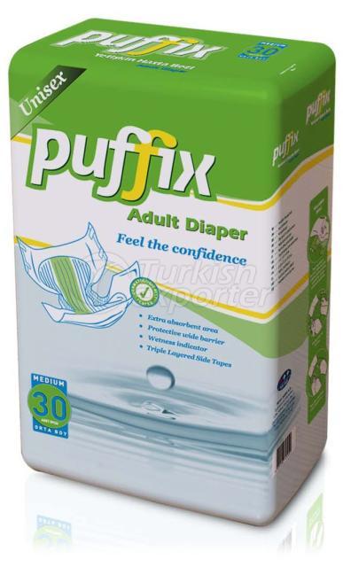 Inpatient Diapers 30 P MEDIUM