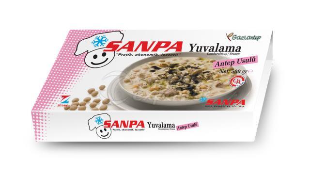 Sanpa Chickpeas and Dumpling Soup
