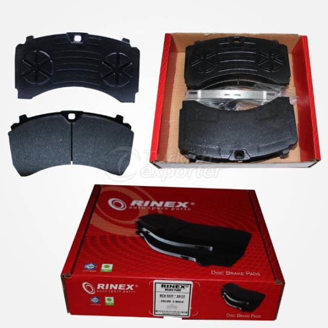 Plaquettes de frein à disque -Mercres Actros MP4 Rear