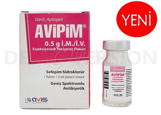Avipim 0.5g IM-IV