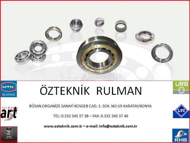 Özteknik Rulman
