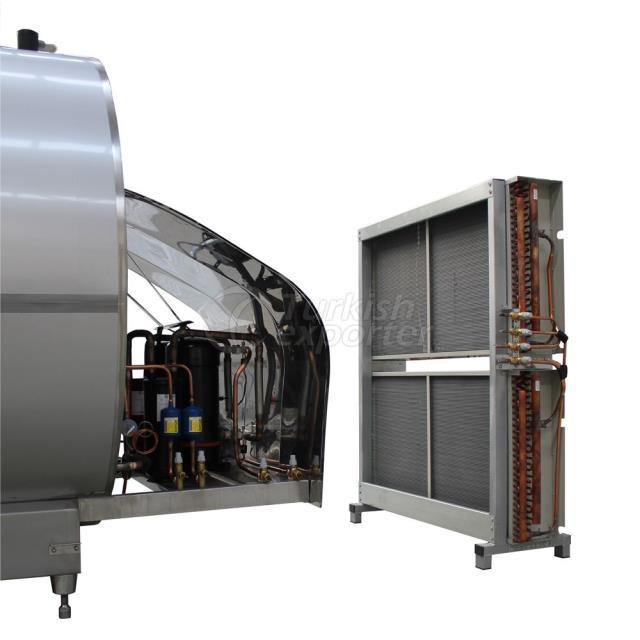 PHS Horizontal Milk Cooling Tank
