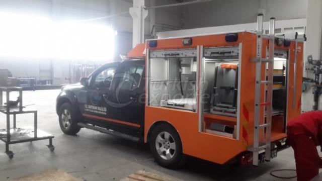 First Responder Vehicles NISSAN NAVARRA