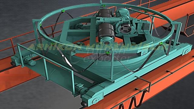 Rotary  Hoisted CraneSystems