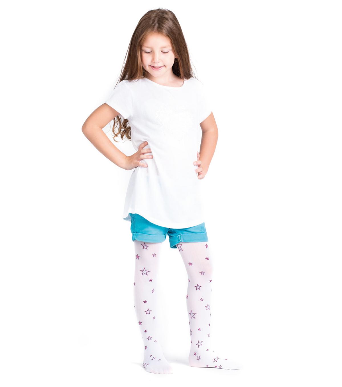 EV0113 - Eva 60 Den Patterned Fashion Tights For Kid_s _Star_