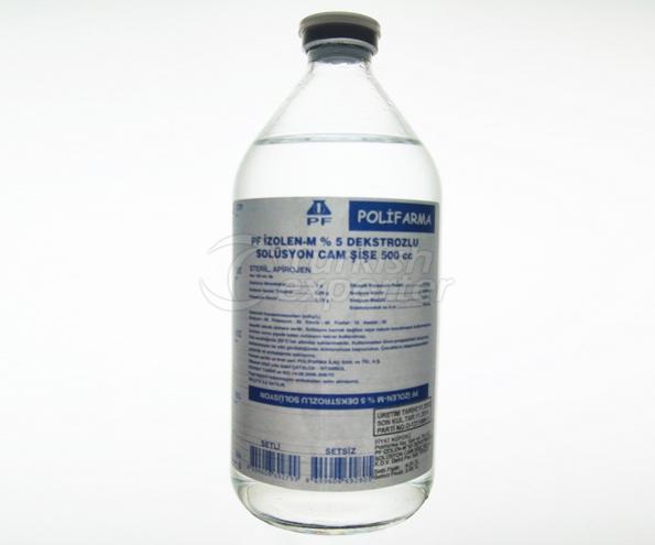 محلول  Isolyte Dextrose I.V.