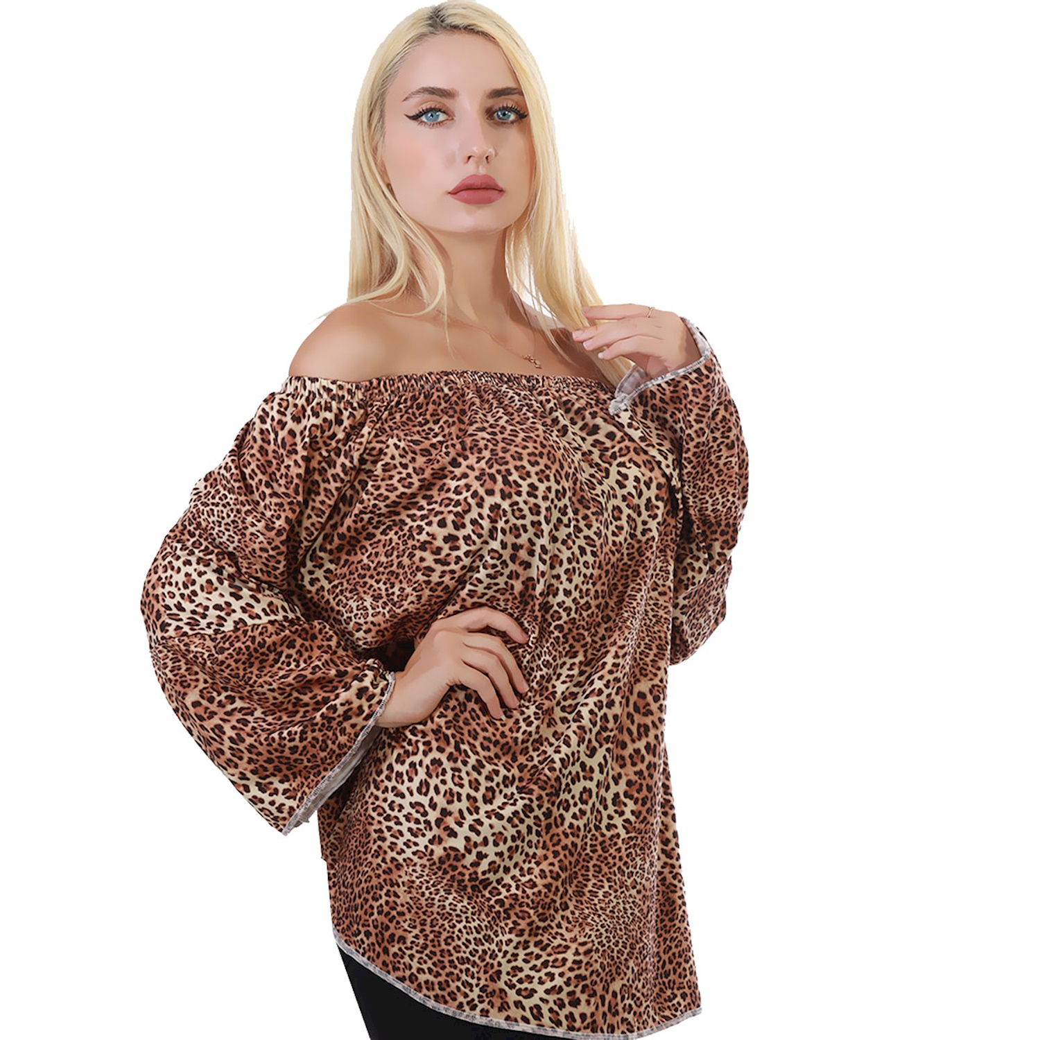 Brown Leopard Tunic
