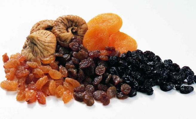 Dried Fig, Dried Apricot, Raisin