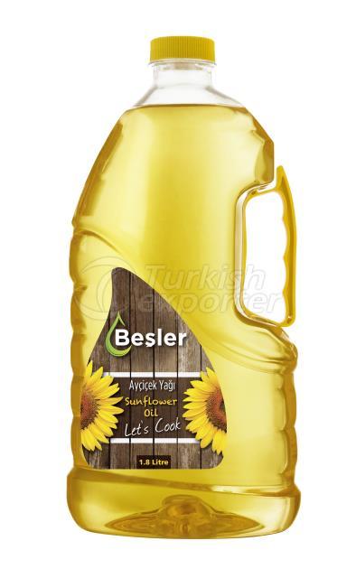 Refined Sunflower Oil 1.8 Litre