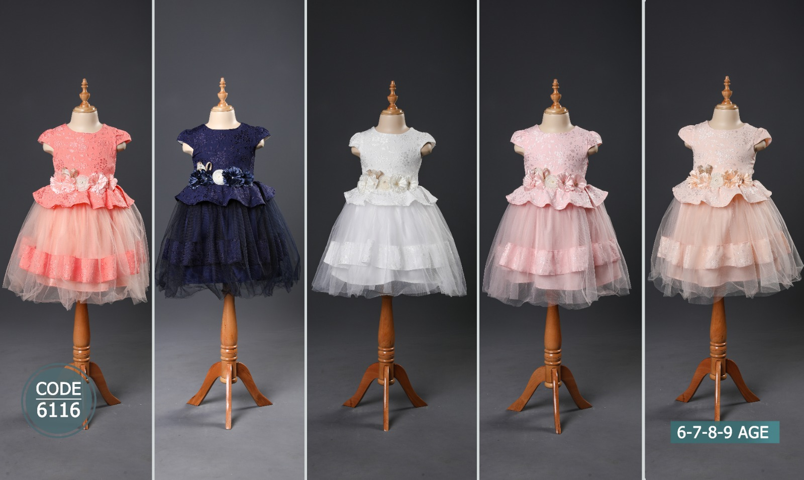 Girl Gowns 2/5 Ages and 6/9 Ages