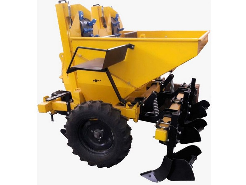 Dbl. Rows. Automatic Potato Planting Mac.
