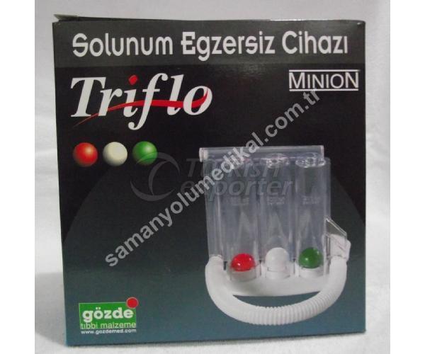 Triflo Solunum Egzersiz Cihazı