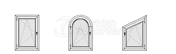 Çift Açılım Pencere Profilleri