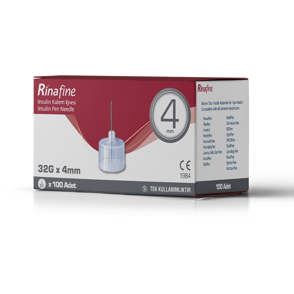 Rinafine Insulin Pen Needles ( 4-5-6-8 mm )