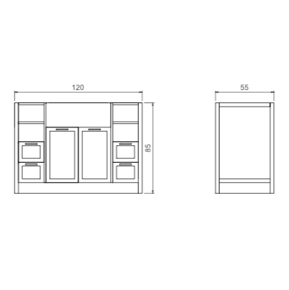 Bathroom cabinet, Bathroom Furniture, Bathroom, Sink (New Design)