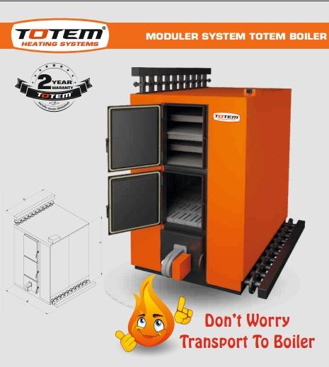 Modular System Totem Boiler