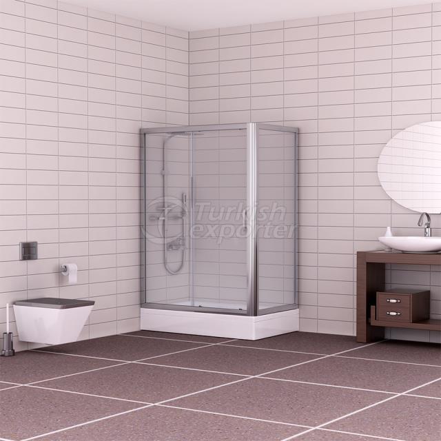 Corner Shower Cabin Sedir