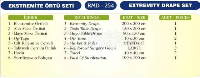 Extremity Drape Set
