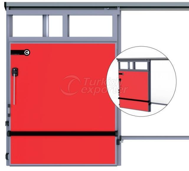 Cold Storage Doors Monorail