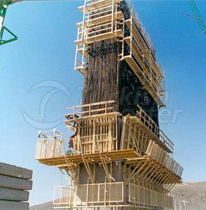 H20 CLIMBING WALL FORMWORK (WINCH ASSISTED)
