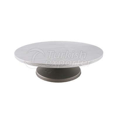 Aluminum Rotating Pie Stand